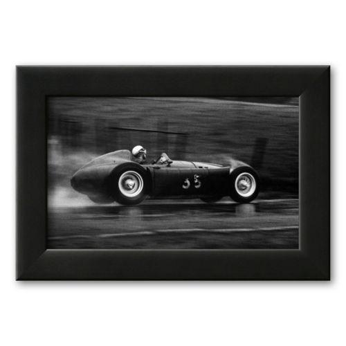 Art.com Grand Prix of Belgium 1955 Framed Art Print by Jesse Alexander