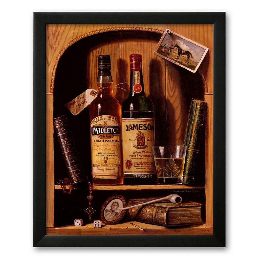 Art.com ''Jameson Irish Whiskey'' Framed Art Print by Raymond Campbell