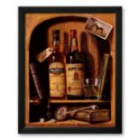 Art.com ''Jameson Irish Whiskey'' Framed Art Print by Raymond Campbell