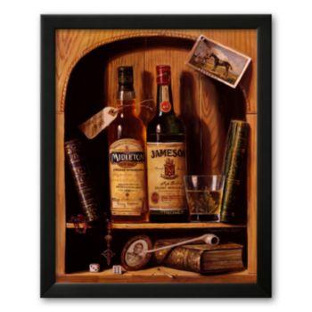 Art.com Jameson Irish Whiskey Framed Art Print by Raymond Campbell