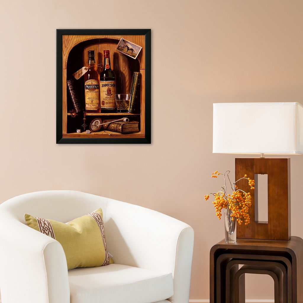 Art.com Jameson Irish Whiskey Framed Art Print by Raymond Campbell