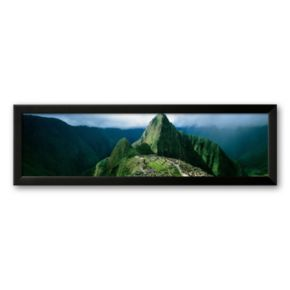 Art.com Machu Picchu, Andes, Peru Framed Art Print by Mark Segal