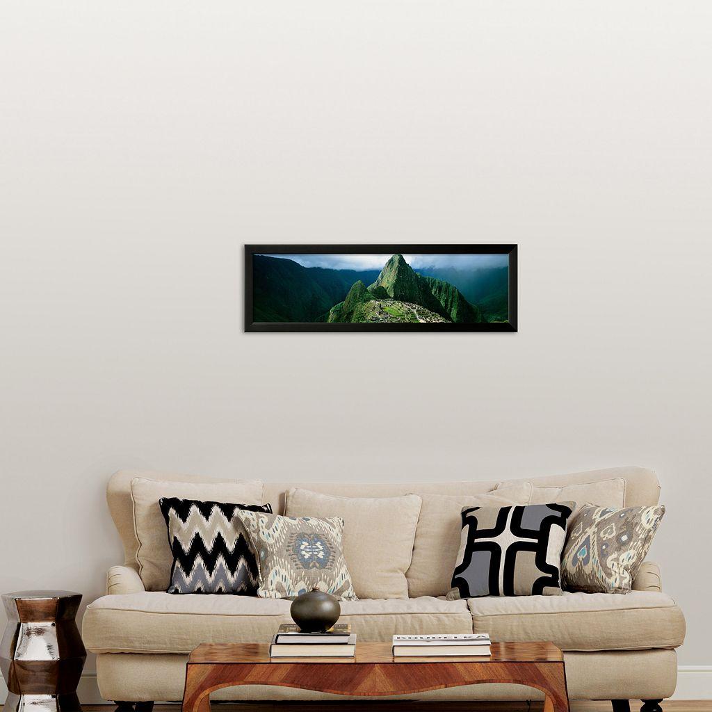 Art.com Machu Picchu, Andes, Peru Framed Art Print by Mark Segal