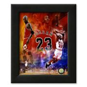 Art.com Michael Jordan 2011 Legends Composite Framed Art Print