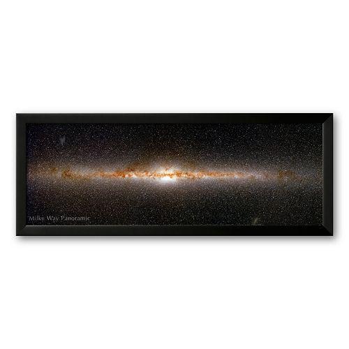"Art.com ""Milky Way Panorama"" Framed Art Print"