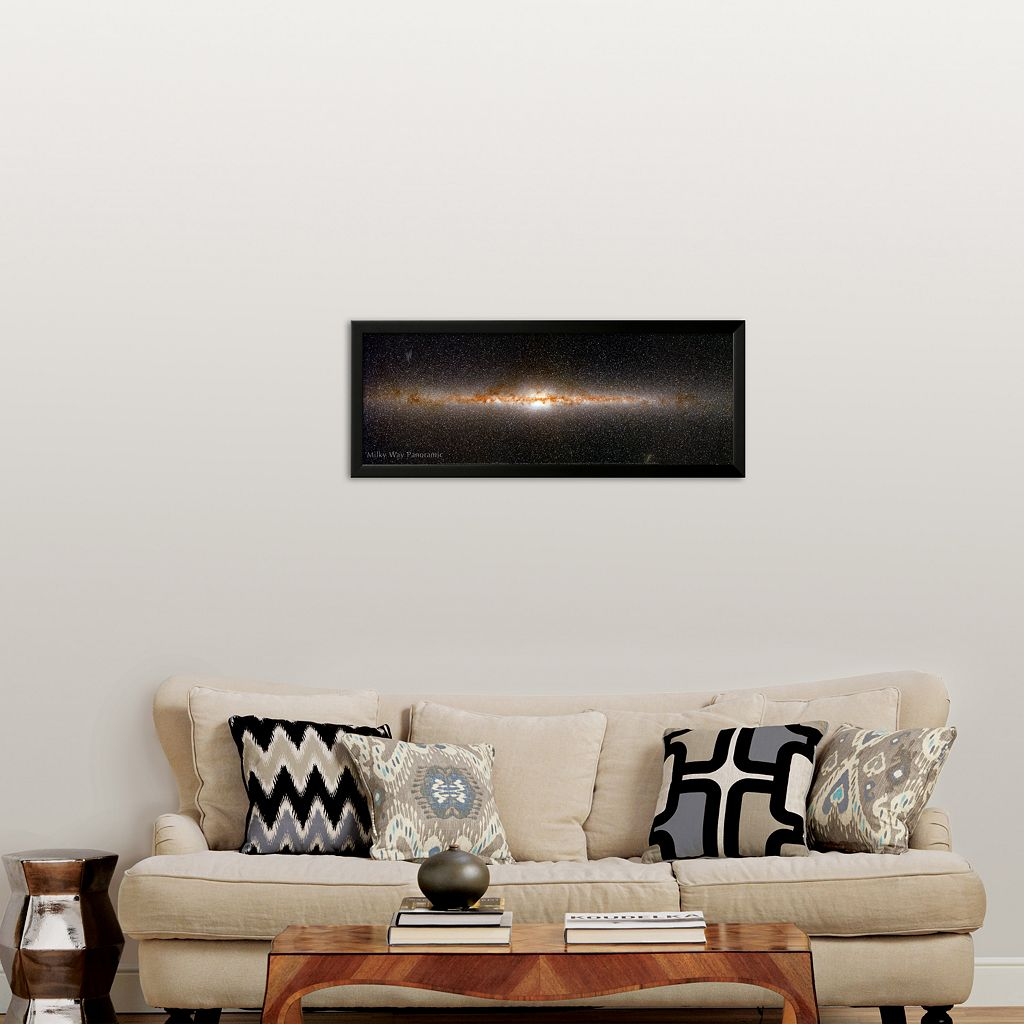 Art.com Milky Way Panorama Framed Art Print