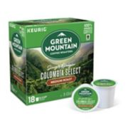 Keurig® K-Cup® Pod Green Mountain Coffee Colombian Fair Trade Select Medium Roast Coffee - 18-pk.