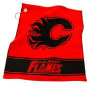Team Golf Calgary Flames Woven Towel