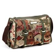Nicole Lee Reing Teddy Bears Barrel Bag