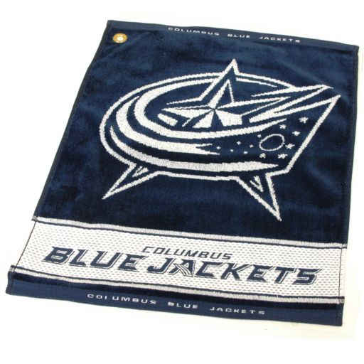 Team Golf Columbus Blue Jackets Woven Towel