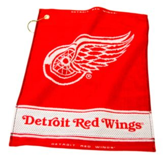 Team Golf Detroit Red Wings Woven Towel