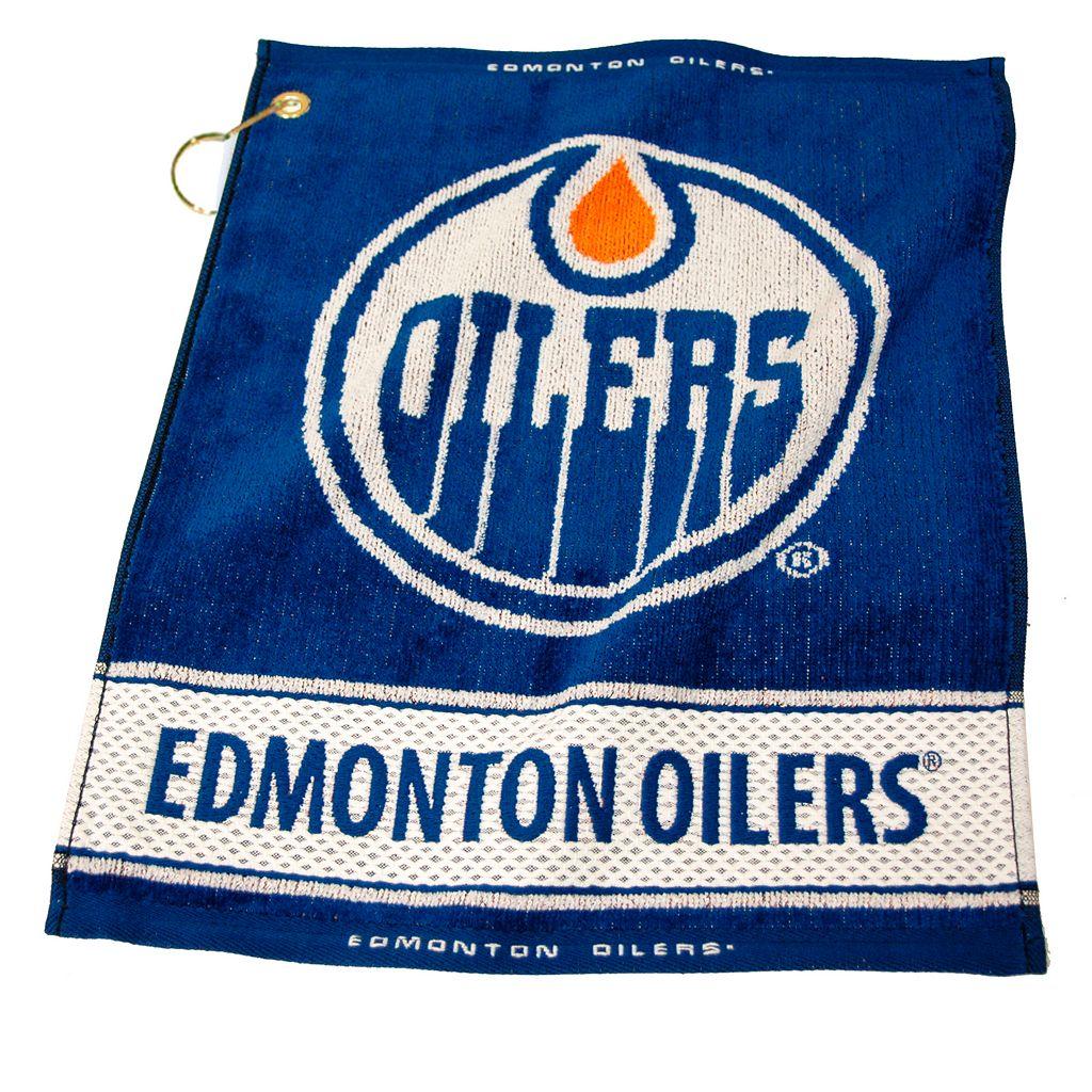 Team Golf Edmonton Oilers Woven Towel
