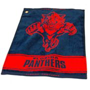 Team Golf Florida Panthers Woven Towel