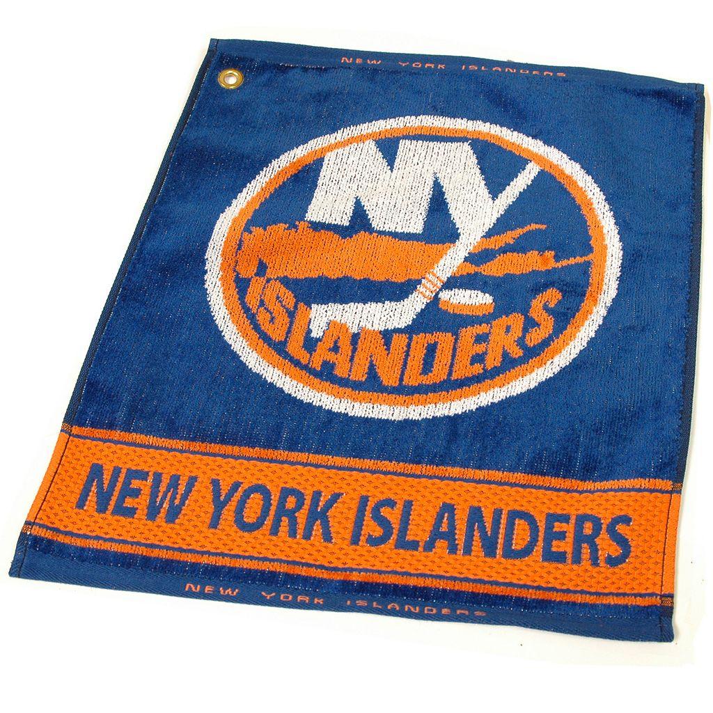 Team Golf New York Islanders Woven Towel
