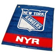 Team Golf New York Rangers Woven Towel