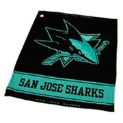 Team Golf San Jose Sharks Woven Towel
