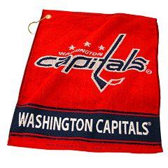 Team Golf Washington Capitals Woven Towel