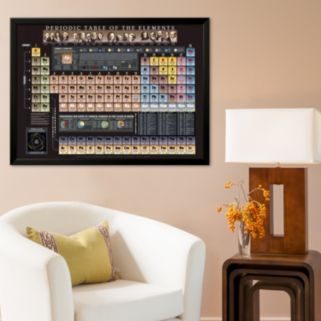 Art.com Periodic Table Chart - Spaceshots Framed Art Print by Spaceshots