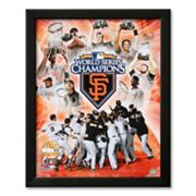 Art.com San Francisco Giants 2010 World Series Champions PF Gold Framed Art Print