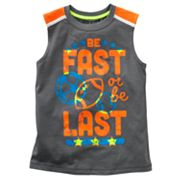 Jumping Beans Be Fast Muscle Tee - Boys 4-7x