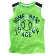 Jumping Beans Home Base Muscle Tee - Boys 4-7x