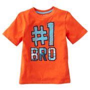 Jumping Beans Number 1 Bro Tee - Boys 4-7x