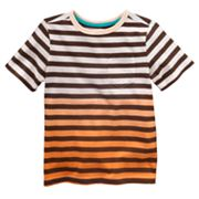 SONOMA life + style Dip-Dyed Striped Tee - Boys 4-7x