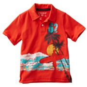 SONOMA life + style Beach Sunset Polo - Boys 4-7x