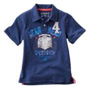SONOMA life + style Gear Head Polo - Boys 4-7x