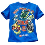 LEGO Ninjago Don't Make me go Ninja on You Tee - Boys 4-7