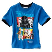 LEGO Star Wars Mock-Layered Here Comes Trouble Tee - Boys 4-7