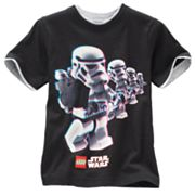 LEGO Star Wars Mock-Layer Storm Trooper Tee - Boys 4-7