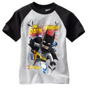 LEGO Batman The Dark Knight Raglan Tee - Boys 4-7