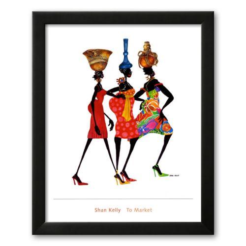 Art.com To Market Framed Art Print by Shan Kelly