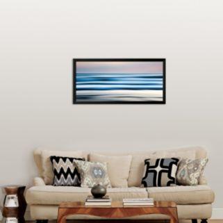 Art.com Tor Beach, Summer Framed Art Print by Jeff Friesen