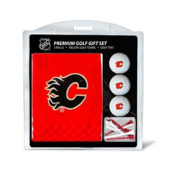 Team Golf Calgary Flames Embroidered Towel Gift Set