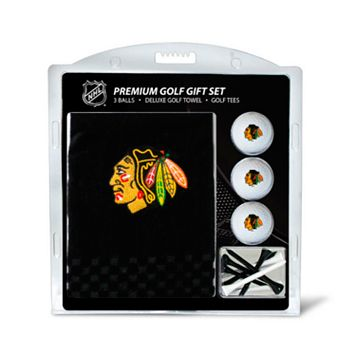 Team Golf Chicago Blackhawks Embroidered Towel Gift Set