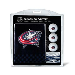 Team Golf Columbus Blue Jackets Embroidered Towel Gift Set