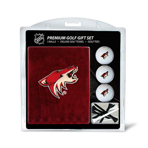 Team Golf Phoenix Coyotes Embroidered Towel Gift Set