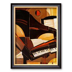 Art.com 'Abstract Piano' Framed Art Print by Paul Brent