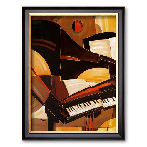 "Art.com ""Abstract Piano"" Framed Art Print by Paul Brent"