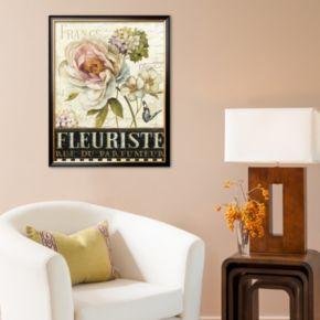 "Art.com ""Marche de Fleurs III"" Large Framed Art Print by Lisa Audit"