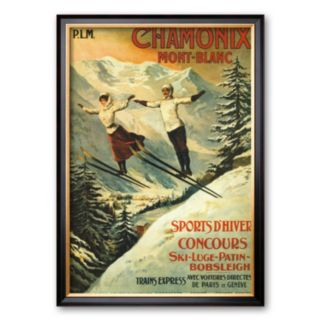 Art.com Chamonix Framed Art Print by Francisco Tamagno