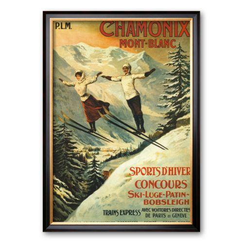 Art.com Chamonix Framed Art Pr...