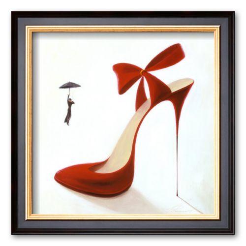 Art.com Highheels, Obsession Framed Art Print by Inna Panasenko