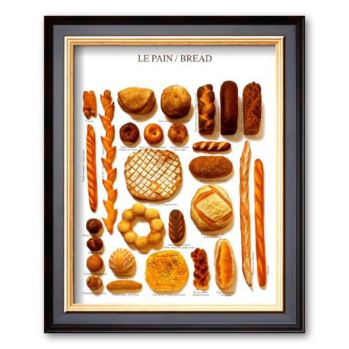 Art.com Bread Framed Art Print