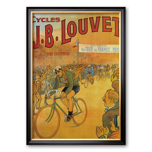 "Art.com ""Cycles J.B. Louvet"" Framed Art Print"