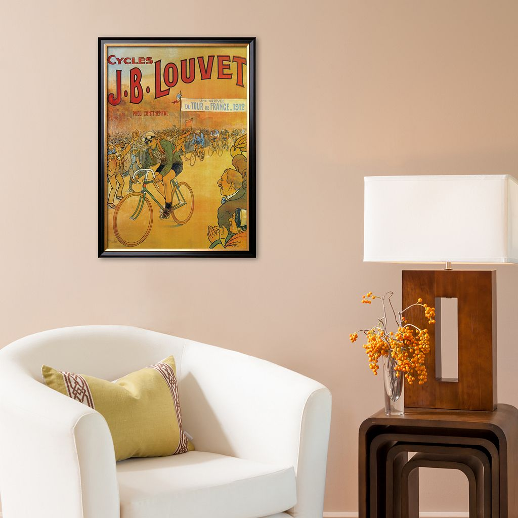 Art.com Cycles J.B. Louvet Framed Art Print