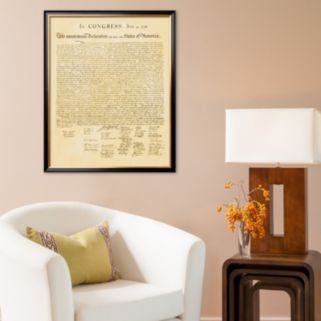 Art.com Declaration of Independence Framed Art Print