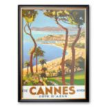 "Art.com ""Ete Cannes Hiver"" Framed Art Print by Peri"